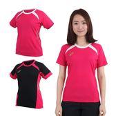 ASICS 女排球練習短袖T恤(免運 羽毛球 健身 休閒 亞瑟士≡排汗專家≡