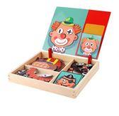 磁性拼圖兒童玩具寶寶早教幼兒益智拼拼樂積木