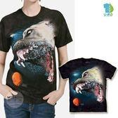 【摩達客】(預購)美國進口 The Mountain 水中比特大丹犬混血 純棉環保短袖T恤(YTM104175785164)