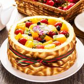 【樂活e棧】母親節造型蛋糕-虎皮百匯蛋糕(6吋/顆,共2顆)