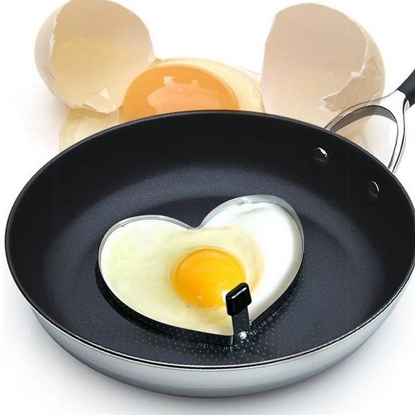 [拉拉百貨]不銹鋼心型煎蛋器 愛心早餐煎蛋圈 煎蛋模具 心型煎蛋器