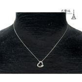 【巴黎站二手名牌專賣店】*現貨*Tiffany & Co. 真品* 經典純銀愛心墜飾項鍊