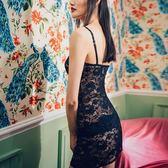 性感小情趣吊帶睡裙短款蕾絲吊帶睡衣短裙