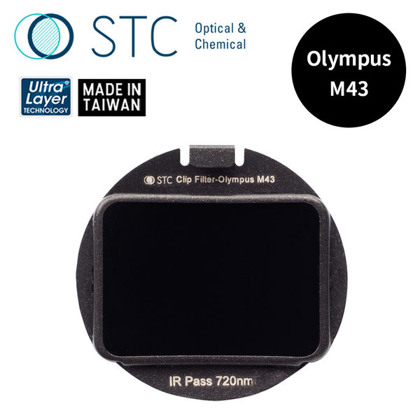 【STC】Clip Filter IR Pass 720nm 內置型紅外線通過濾鏡 for Olympus M43
