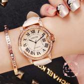 手錶  石英錶時裝皮帶