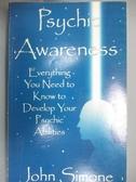 【書寶二手書T6/原文小說_IHT】Psychic Awareness : Everything You Need to