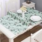 PVC印花不透明桌布防水防燙防油免洗餐桌墊桌巾 叮噹百貨