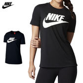 Nike Tee Icon 女 黑 白 運動上衣 短袖 運動 Futura 棉T 慢跑 短T 健身 T-Shirt 846469010