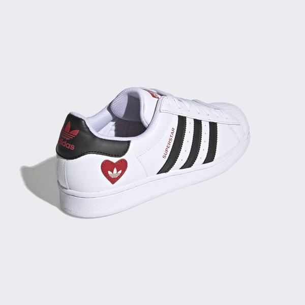 Adidas Original Superstar [FZ1807] 男女鞋 運動休閒 經典 愛心 愛迪達 白 黑