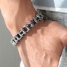【5折超值價】時尚潮流美式街頭鍊條特色造型男款鈦鋼手鍊