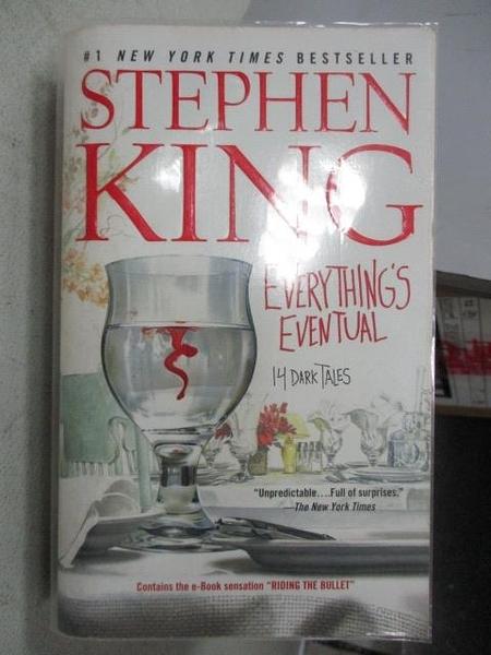 【書寶二手書T9/原文小說_MOP】Everything s Eventual_Stephen King