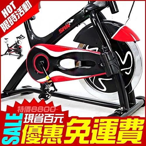 23KG動感競速車.黑爵士飛輪健身車.6倍強度.23公斤.室內腳踏車.推薦哪裡買【SAN SPORTS】