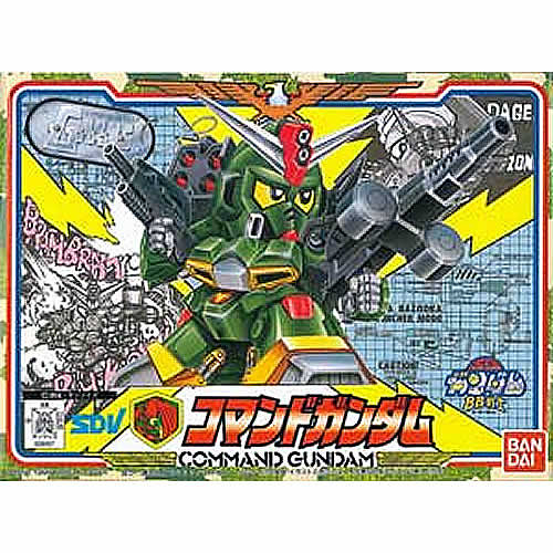 【 日本 BANDAI 】BB戰士 #59 ~-揮官鋼彈 Command Gundam