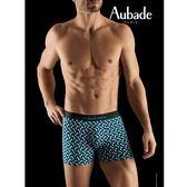 Aubade man-壞男人M-XL舒棉平口褲(錯覺)
