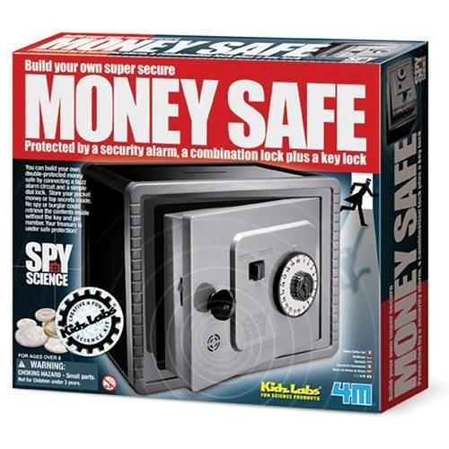 《4M科學探索》間諜防盜保險箱 Money Safe╭★ JOYBUS玩具百貨
