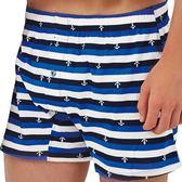 SOLIS-自由水手系列M-XXL純棉寬鬆四角褲(寶藍色)