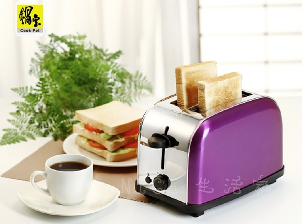 鍋寶 不鏽鋼烤土司烤麵包機 / OV-580-D