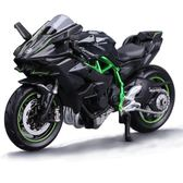 美馳圖1 18杜卡迪雅馬哈川崎摩托車模型擺件成人玩具仿真合金機車 【1件免運好康八九折】