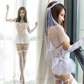 性感睡衣 花嫁的誘惑性感新娘裝-玩伴網【滿額免運】