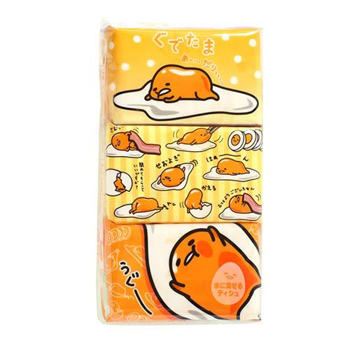 《Sanrio》蛋黃哥可溶水面紙12入1組★funbox生活用品★_11482N