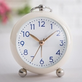 鬧鐘學生用靜音床頭時鐘