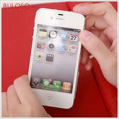 《不囉唆》 iphone 4/4s亮面前後保護膜 保護/螢幕/防護貼/貼膜(不挑色/款)【A267359】