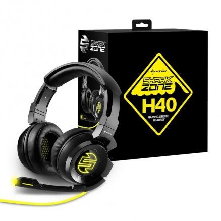 旋剛 Sharkoon SHARK ZONE H40 狂風者 電競耳麥 遊戲耳機 耳機麥克風 電腦耳機【迪特軍】