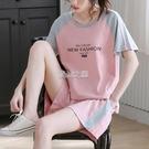 運動套裝 運動套裝女夏季新款時尚寬鬆韓版...