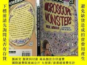 二手書博民逛書店horrible罕見science microscopic monsters 可怕的科學微觀怪.物,Y2003