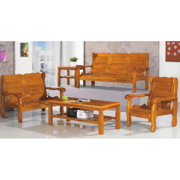 沙發 PK-303-7 503型柚木組椅(全組)(1+2+3+大.小茶几)【大眾家居舘】