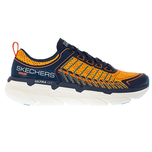 SKECHERS 男慢跑系列 輕便靈敏的ULTRA GO中底 加強透氣瑜珈鞋墊 藍黃 220070NVOR