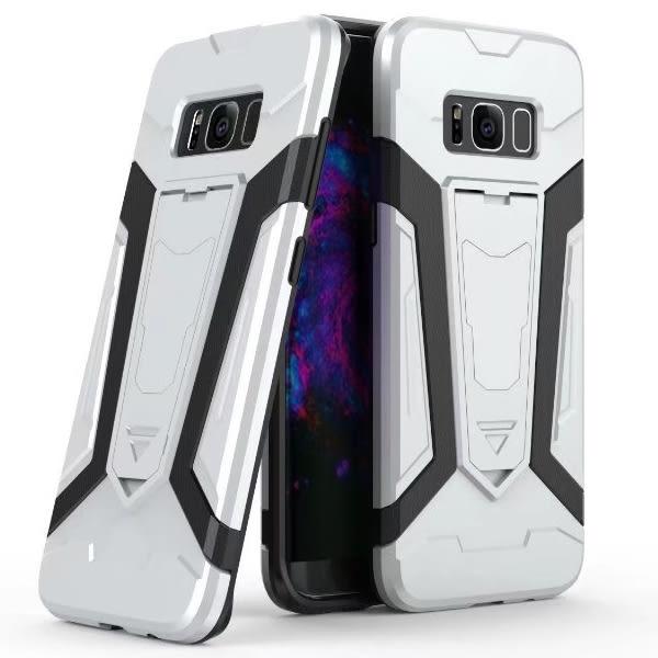 三星 S8 S8 Plus 鐵甲俠 手機殼 支架手機殼 防摔 PC塑料 軟殼 內軟殼 保護殼
