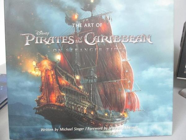 【書寶二手書T1/藝術_QFL】The Art of Pirates of the Caribbean: On Stranger Tides