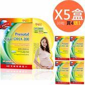 孕哺兒 高單位微藻DHA 軟膠囊 30粒 買4送1共5盒 ◤限時59折◢