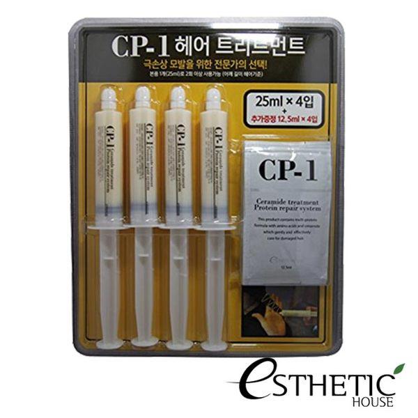 韓國 Esthetic House CP-1 護髮針 25ml×4 + 補充包12.5ml×4 (4+4套組) 蛋白護髮針 護髮膜