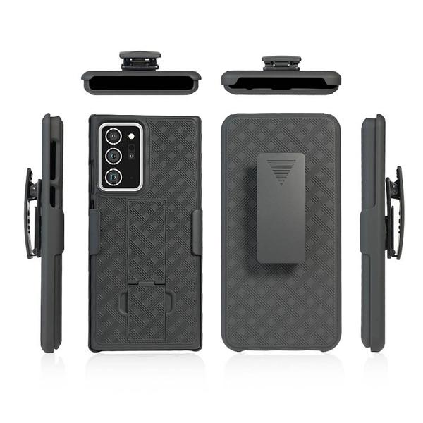 二合一商務Galaxy Note20保護套 三星Note20 Ultra 手機殼 三星Note20保護殼防摔殼 SamSung編織紋手機套