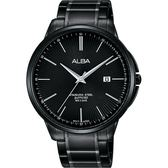 ALBA 雅柏 城市系列時尚手錶-鍍黑/42mm VJ42-X267SD(AS9H37X1)