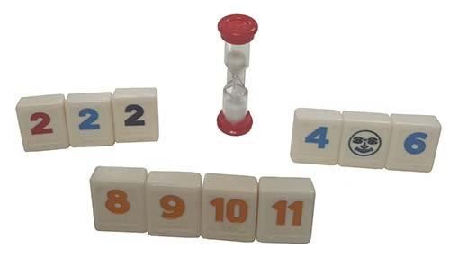 『高雄龐奇桌遊』 拉密 專業版 Rummikub Club 麻將版 ★正版桌上遊戲專賣店★
