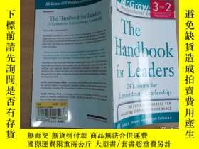 二手書博民逛書店The罕見Handbook For Leaders: 24 Le