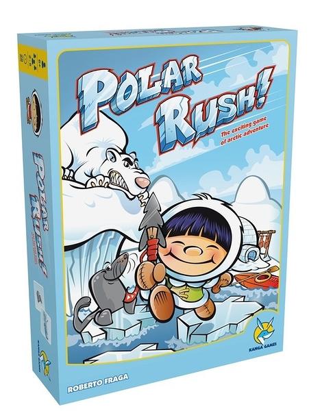 『高雄龐奇桌遊』 冰原小英雄 Polar Rush! 繁體中文版 ★正版桌上遊戲專賣店★