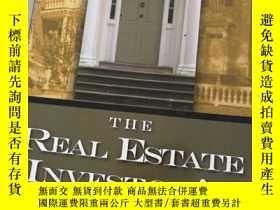 二手書博民逛書店THE罕見REAL ESTATE INVESTOR'S HANDBOOKY258470 STEVEN D.FI