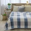 【BEST寢飾】牛奶絨雪花毯 格紋元素 150x200cm 毛毯 毯子 法蘭絨 防靜電毯