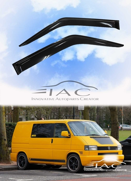 Volkswagen 福斯Transporter T4 90-03 台製晴雨窗 【IAC車業】