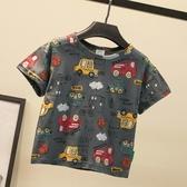 男童T恤男童短袖t恤夏季兒童夏裝體恤上衣寶寶夏天洋氣小童男孩半袖【快速出貨八折下殺】