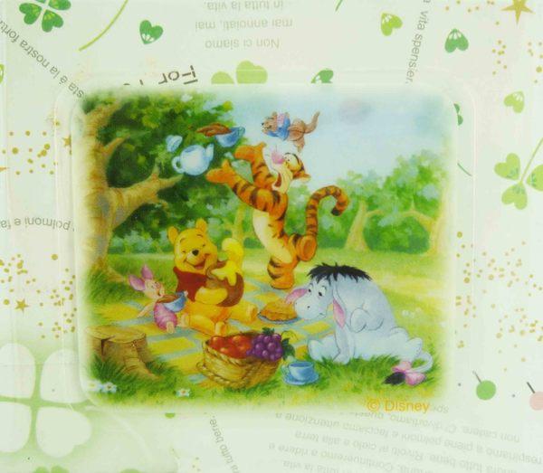 【震撼精品百貨】Winnie the Pooh 小熊維尼~貼紙-野餐