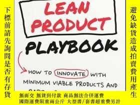 二手書博民逛書店The罕見Lean Product Playbook: How to Innovate with Minimum