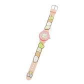 〔小禮堂〕角落生物 造型矽膠錶帶兒童手錶《粉.抱頭》休閒錶.腕錶 4937996-30909