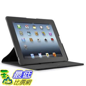 [美國直購] Speck 保護套 71866-1041 Products FitFolio Protective Case for iPad 3/4 - Black Vegan Leather