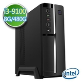 技嘉B365平台【EI391-GB365M09】i3四核 SSD 480G效能電腦