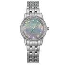 CITIZEN 星辰 光動能 時尚晶鑽腕錶 EM0770-52Y